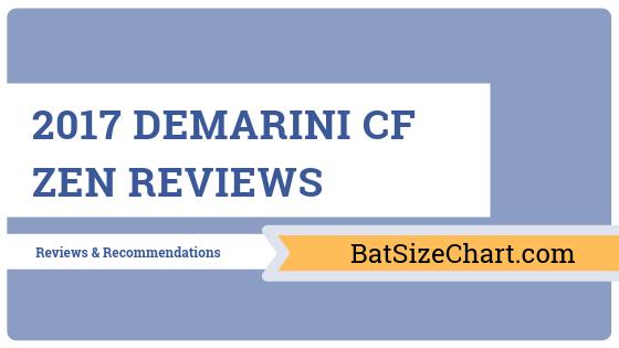 2017 DeMarini CF Zen Reviews