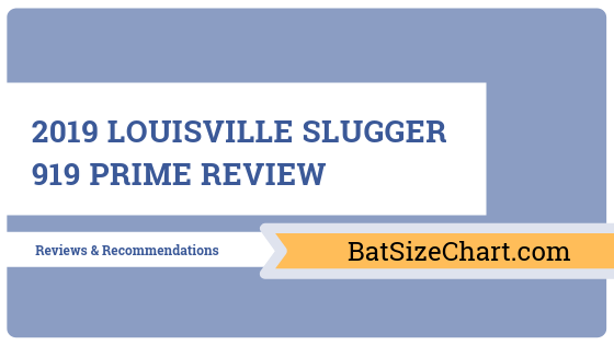 2019 Louisville Slugger 919 Prime Review